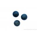 Perle en pierre naturelle Agate mousse - ronde - vert