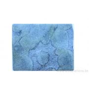 Perle en pierre naturelle - néphrite rectangulaire - vert tacheté