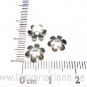Coupelles dentelle 8mm - en argent 925