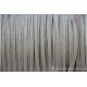 Cordon en daim - 1,4 mm / 3 mm - naturel - par 1 mètre