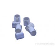 Embouts tube à écraser 3,5 mm / 3 mm - en argent 925