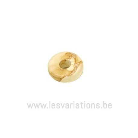 Rondelle céramique - beige