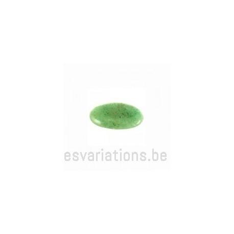 Cabochon pierre semi-précieuse Aventurine 18/13 mm
