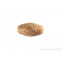Perle en pierre de Jaspe - ovale