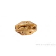 Perle en pierre de Jaspe - ronde