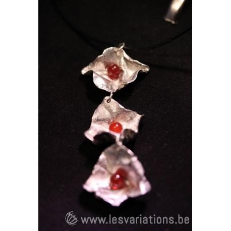 La couronne de fleurs- bijoux en argent 925 - collection les chiffonnées