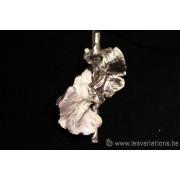 La tige - bijoux en argent 925 - collection les chiffonnées