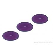 Cabochon ovale en verre 24 /14 mm -