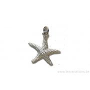 Jolie étoile de mer - intermédiaire - en argent 925