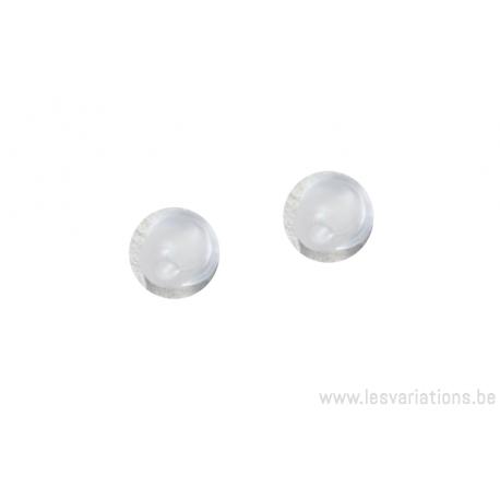 bouchons pour attache de boucles d'oreille- par paire