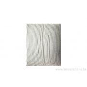 Fil soie japonais - 1 mm -argenté