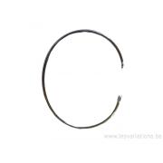 Corps de bracelet en argent 925 - fil rond