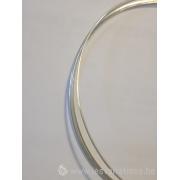 Fil rond en argent 925 - 0,7 mm