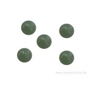 Cabochon pierre semi-précieuse Aventurine 12 mm