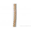 Perle en pierre naturelle - citrine 4 mm -fil de 40 mm