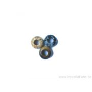 Différentes pierres naturelles trou de 5 mm