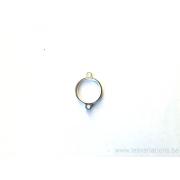 support pour cabochon 2 anneaux 10 mm - argent 925