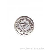 Médatillon Chakra 3 - argent 925