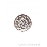 Médatillon Chakra 4 - argent 925