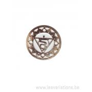 Médatillon Chakra 5 - argent 925