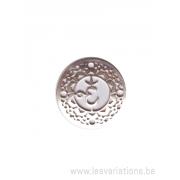 Médatillon Chakra 7 - argent 925
