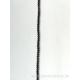 Perle en pierre naturelle - onyx - 2 mm - vendu par fil