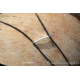 """Collier de verre """" les strates"""" - différents bruns"""