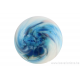 Cabochon en verre artisanal - la constellation 2 - bleu