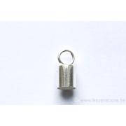 Embouts tube 6,5 x 6,70 mm - en argent 925