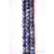 Perle en pierre naturelle - sodalite bleu- vendu par fil - 6 mm