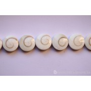 Perle en pierre naturelle - oeil de Sainte Lucie