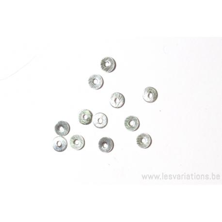 Cercle en argent 925 brossé- intermédiaire