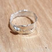 Bague l'anneau - bijoux en argent 925 - collection Karin Fontaine
