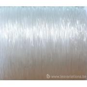 fil élastique transparent 0,80 mm vendu par 1 m